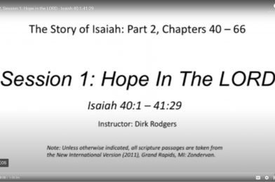 The Story of Isaiah, Part 2