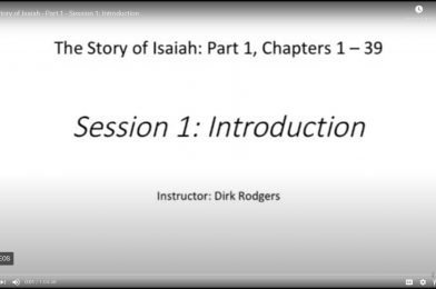 The Story of Isaiah, Part 1