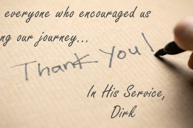 Thank You, Bethany Church!