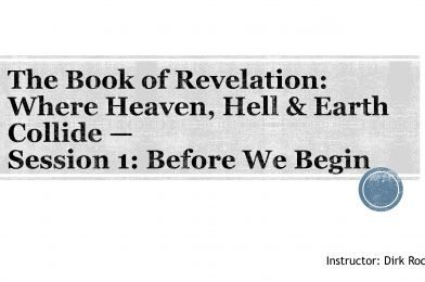 Revelation – An Introduction