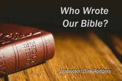 Who Wrote Our Bible?