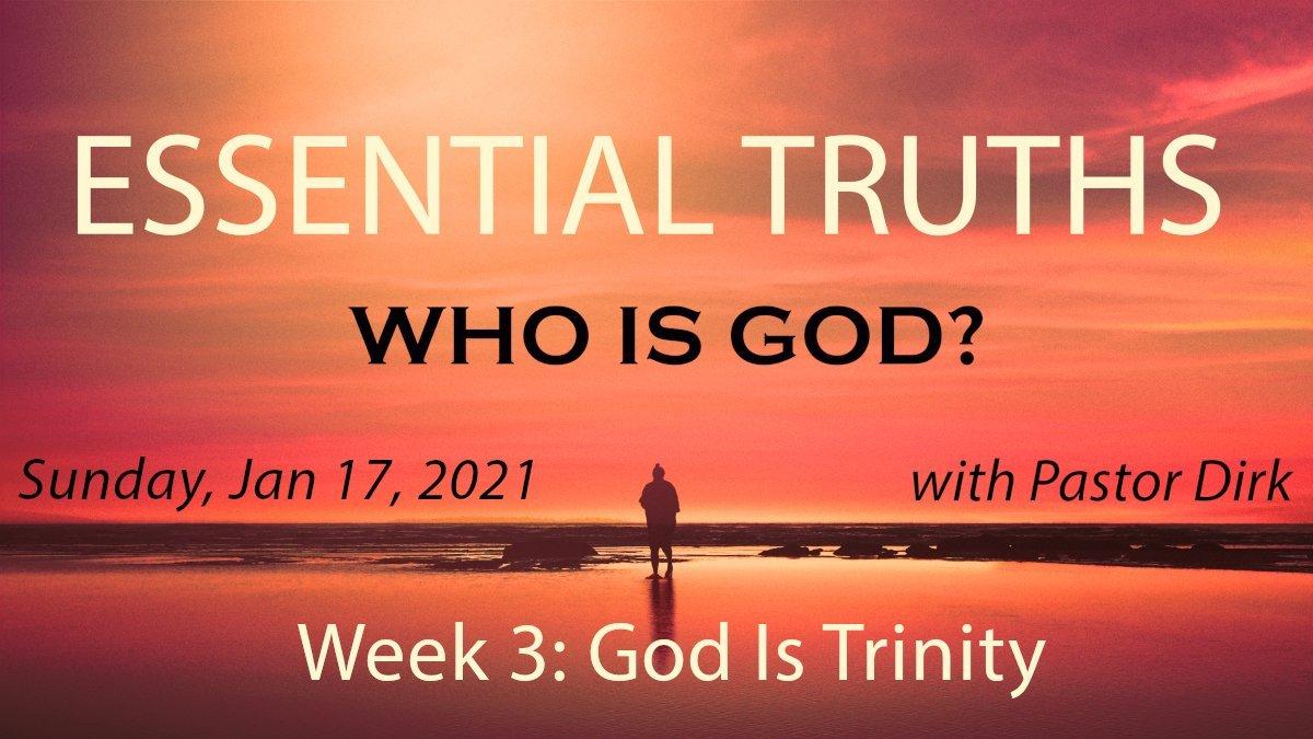 God Is Trinity Image