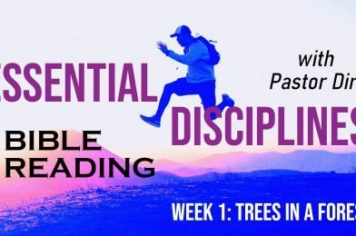 Sermon Video: Bible Reading (2021) – Week 1 – Trees in a Forest